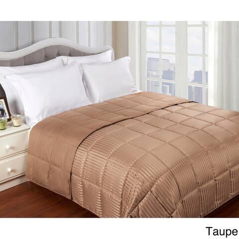 Superior All-season Reversible Hypoallergenic Down Alternative Blanket