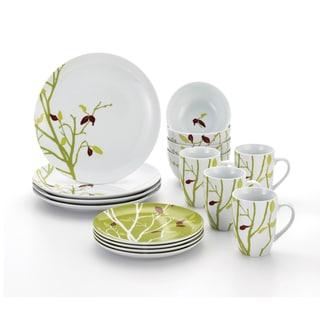 Rachael Ray Dinnerware Seasons Changing 16-piece Porcelain Dinnerware Set  sc 1 st  Overstock.com & Rachael Ray Dinnerware For Less | Overstock.com