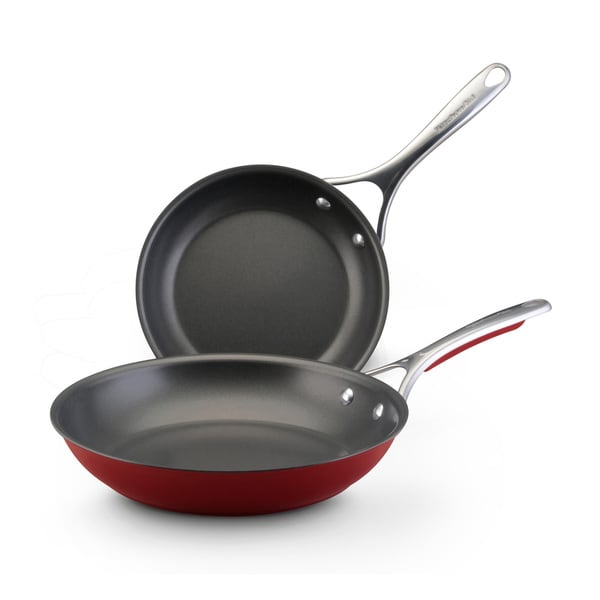 KitchenAid Red Skillet (Pack of 2)