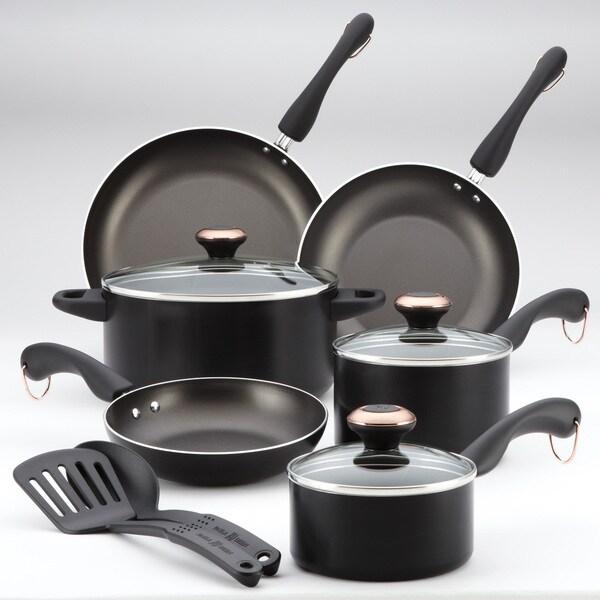 Paula Deen Signature AAP Black 11-piece Cookware Set