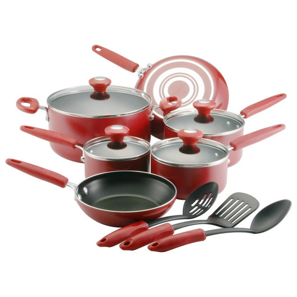 Silverstone Culinary Colors Red Series 13-piece Set