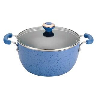 Paula Deen Signature Collection Porcelain Nonstick 5 1/2-quart Blueberry Speckle Covered Casserole