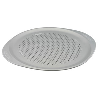Farberware Insulated Nonstick Bakeware 15 1/2-inch Light Grey Round Pizza Pan