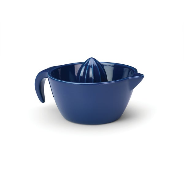 Rachael Ray Blue Stoneware Juicer