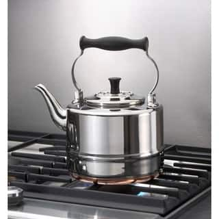 BonJour Tea Stainless Steel Teakettle|https://ak1.ostkcdn.com/images/products/7469199/P14916943.jpg?impolicy=medium