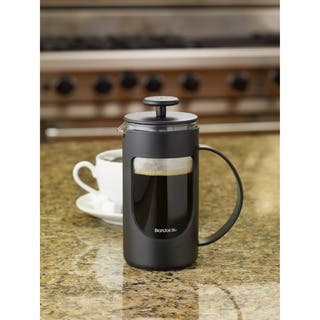 BonJour Coffee Ami-matin 3-cup Black French Press|https://ak1.ostkcdn.com/images/products/7469211/P14916954.jpg?impolicy=medium