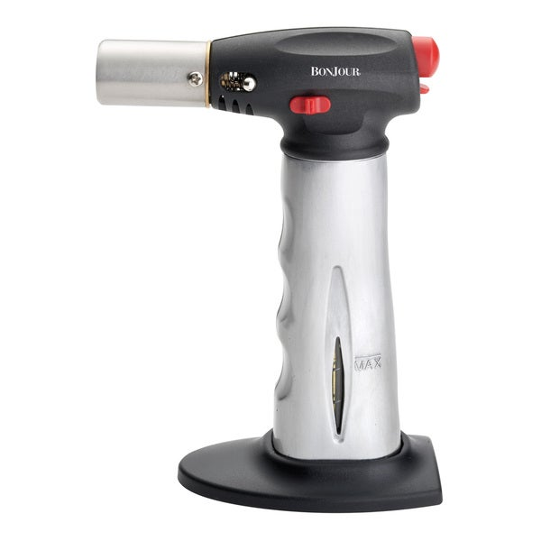 BonJour Chef's Tools Grey Creme Brulee Torch