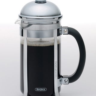 BonJour Coffee 8-cup Stainless Steel Maximus French Press