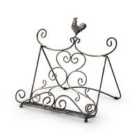 Paula Deen Signature Pantryware Standing Rooster Metal Cookbook Stand