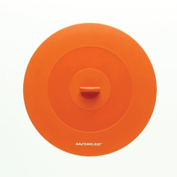 Rachael Ray Tools and Gadgets Orange 9.25-inch Medium Suction Lid