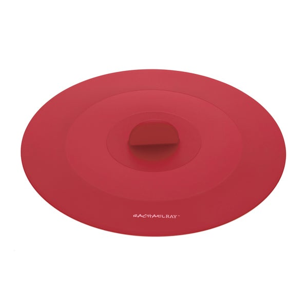 Rachael Ray Tools and Gadgets Red 11.5-inch Large Suction Lid