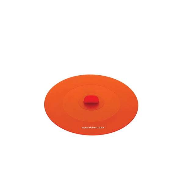 Rachael Ray Tools and Gadgets Orange 7.5-inch Small Suction Lid