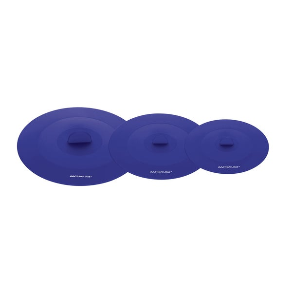 Rachael Ray Tools and Gadgets Blue 3-piece Suction Lid Set