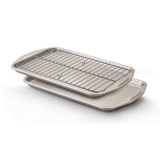 Circulon Nonstick Bakeware 3-piece Grey Bakeware Set