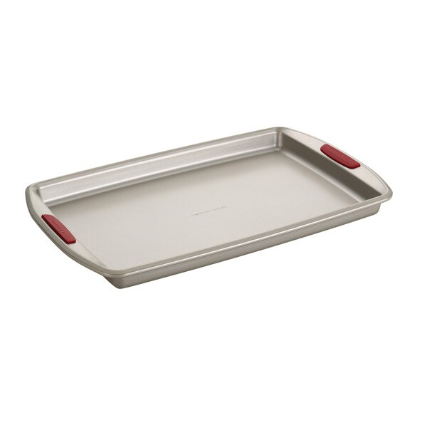 KitchenAid Gourmet Bakeware Cookie Pan with Silicone Red Grips (11 x 17)