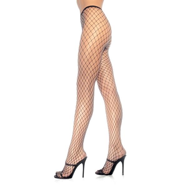 Leg Avenue Women's Diamond Net Pantyhose