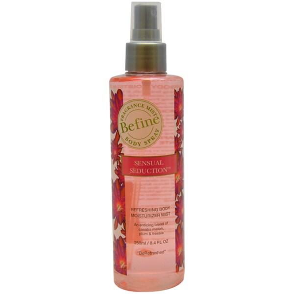 Befine Sensual Seduction Refreshing Body Moisturizer Mist 8.4-ounce Body Spray
