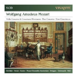 Mozart Ensemble Amsterdam - Mozart: Violin Concertos/Concertante Movements/Flute Concertos/Horn Concertos Etc.