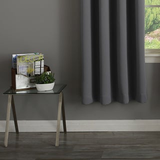 Aurora Home Grommet Top Thermal Insulated 72-inch Blackout Curtain Panel Pair