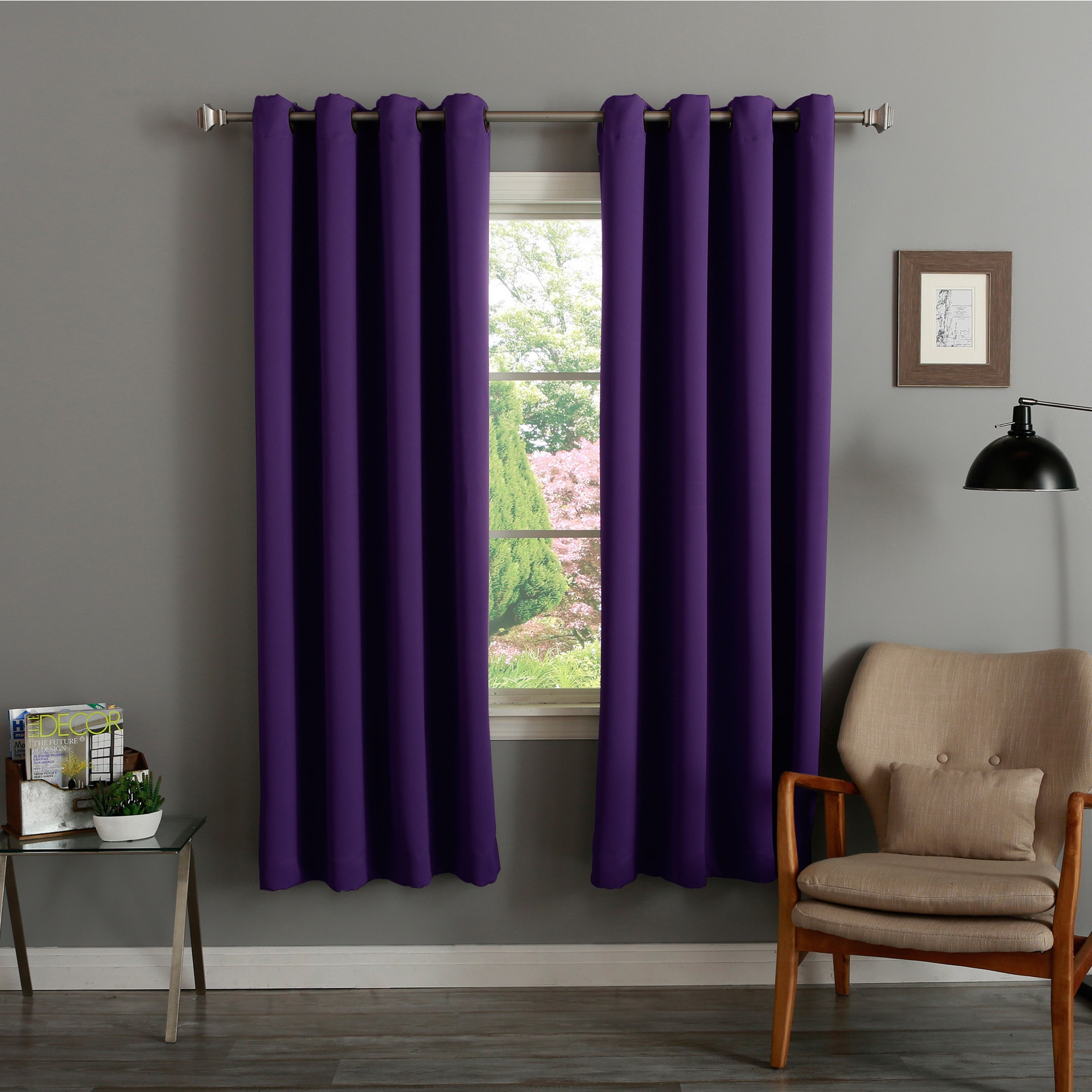 Purple Curtains D Online At Our Best Window Treatments Deals