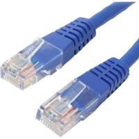 4XEM 100FT Cat6 Molded RJ45 UTP Ethernet Patch Cable (Blue)