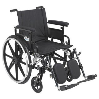 Viper Plus GT Wheelchair with Flip Back Adjustable Arms with Various Front Rigging