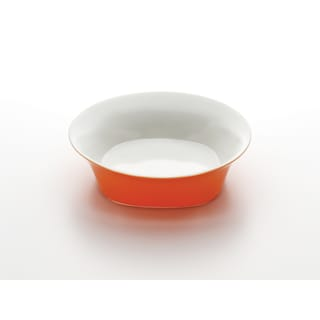 Rachael Ray Round & Square Orange 10-Inch Serving Bowl