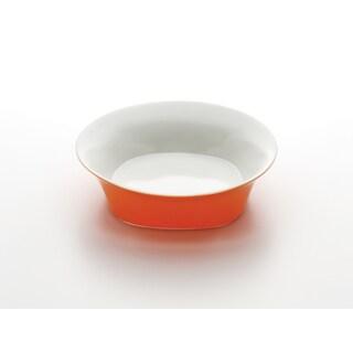 Rachael Ray Round & Square Orange 10-Inch Serving Bowl