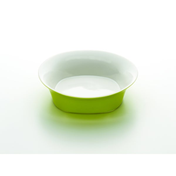 Rachael Ray Round & Square Green 10-Inch Round Serving Bowl
