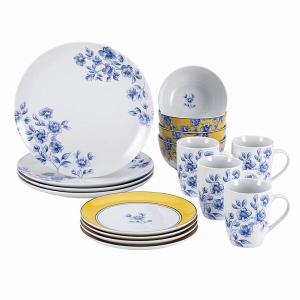 Paula Deen Signature Spring Prelude 16-piece Dinnerware Set