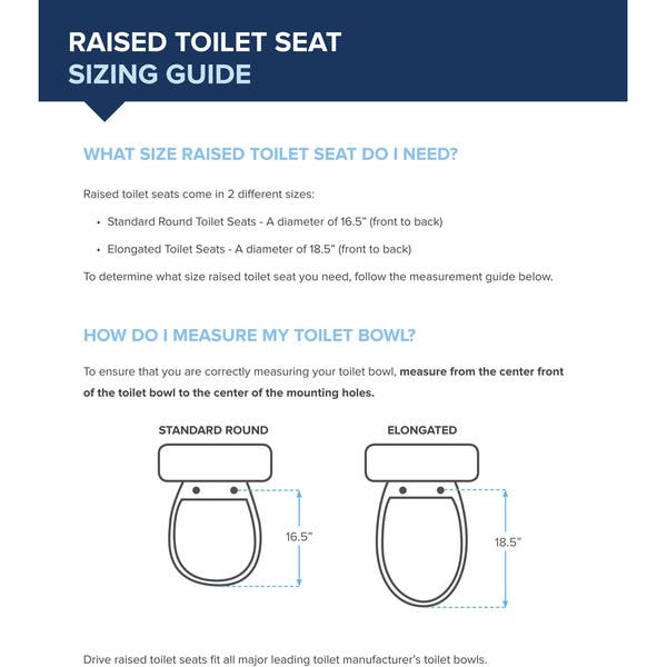 Astonishing Shop Drive Medical Premium Plastic Raised Toilet Seat With Uwap Interior Chair Design Uwaporg