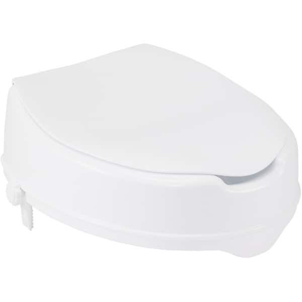 Fabulous Shop Drive Medical Raised Toilet Seat With Lock And Lid Pdpeps Interior Chair Design Pdpepsorg