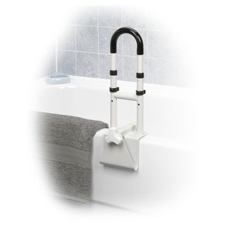 Drive Medical Adjustable Height Bathtub Grab Bar Safety Rail