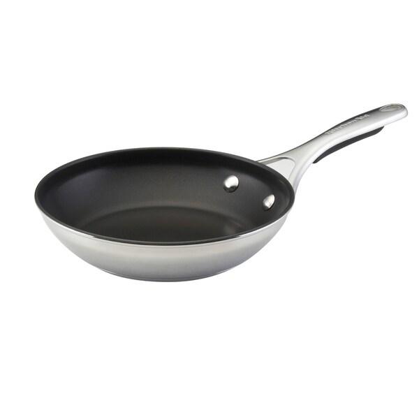 KitchenAid Gourmet Stainless Steel Nonstick 8.5-Inch Skillet