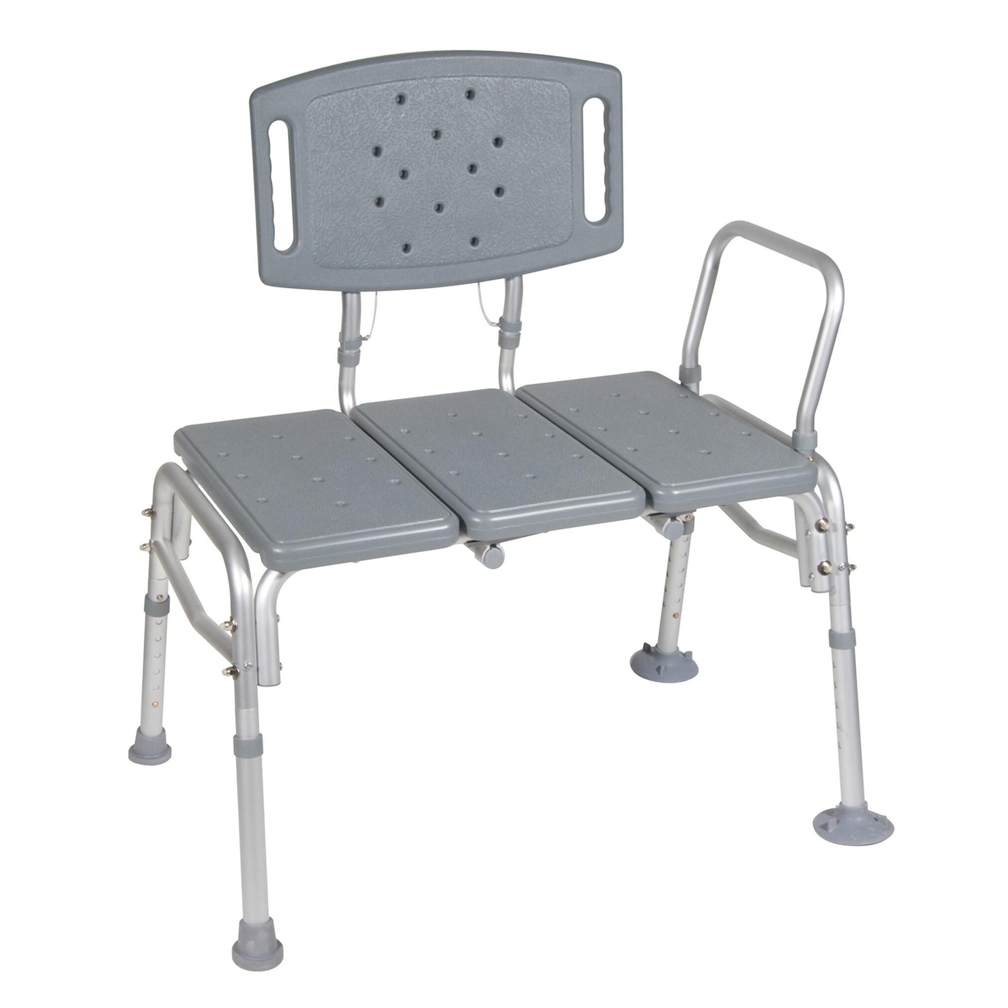 Drive Medical Heavy Duty Bariatric Plastic Seat Transfer ...