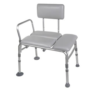 Drive Medical Padded Seat Transfer Bench