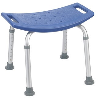 Drive Medical Blue Bath Bench without Back