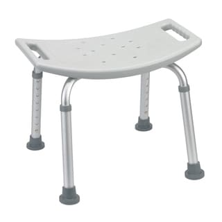 "Drive Medical Bathroom Safety Shower Tub Bench Chair (19.5""(L) x 19.5""(W) x 19.5""(H) - Gray)"
