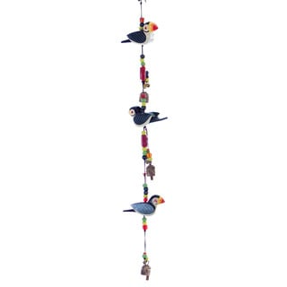 I Love Puffins Wind Chime (India)