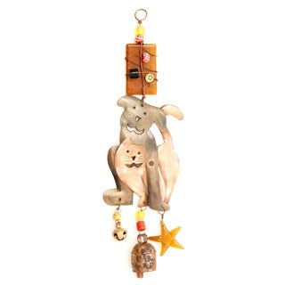 Close Buddies Wind Chime , Handmade in India