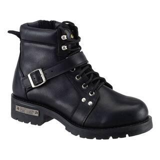 AdTec Men's Black Leather/ YKK Zipper Boots|https://ak1.ostkcdn.com/images/products/7471995/7471995/AdTec-Mens-Black-Leather-YKK-Zipper-Boots-P14919262.jpg?impolicy=medium