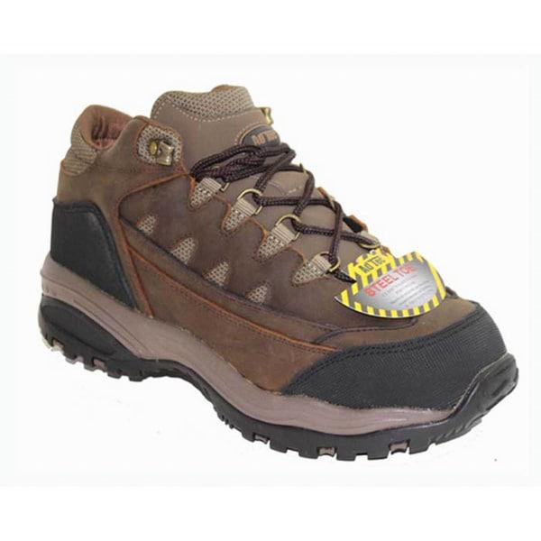 AdTec Men's 4-inch Brown Crazy Horse Work/ Hiker Boots