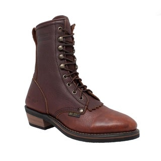AdTec Women's 8-inch Chestnut Leather Packer Boots (More options available)