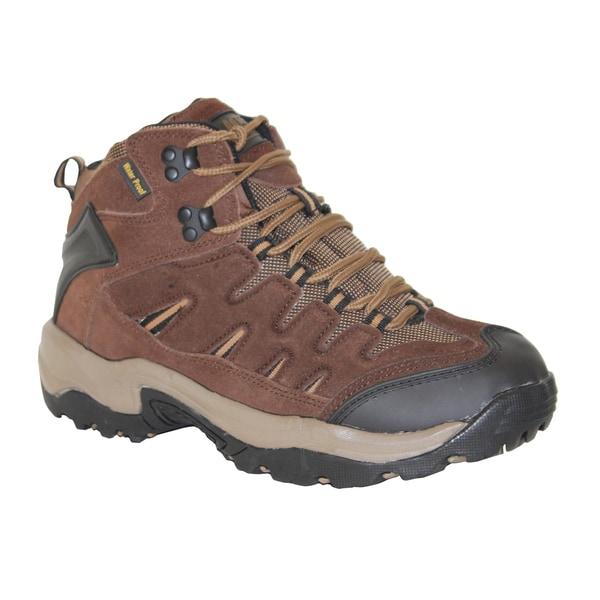 AdTec Men's Brown Suede Leather Work/ Hiker Boots