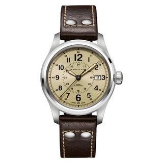 Hamilton Men's Stainless Steel Khaki Automatic Watch