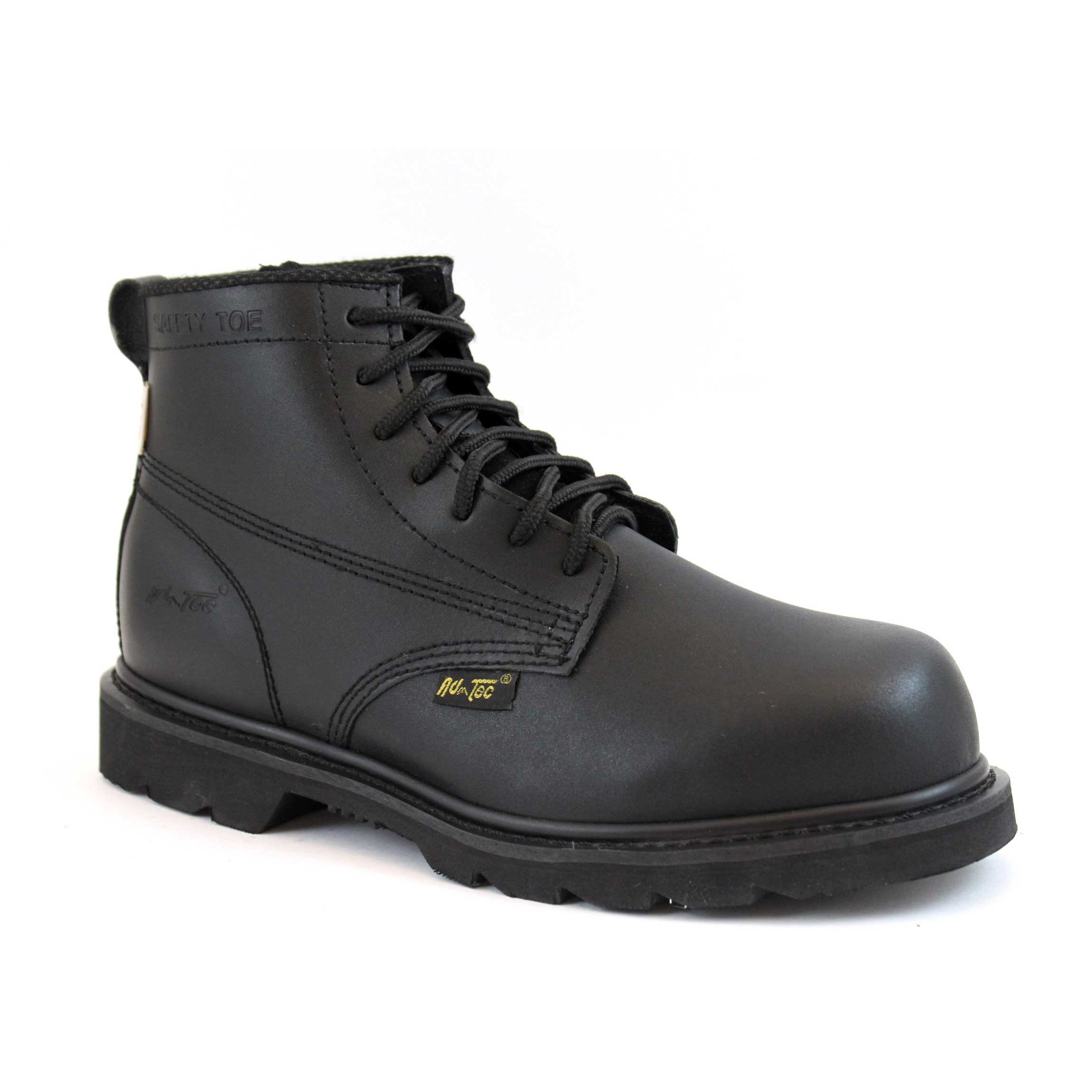 Action Leather Work Boots - Overstock