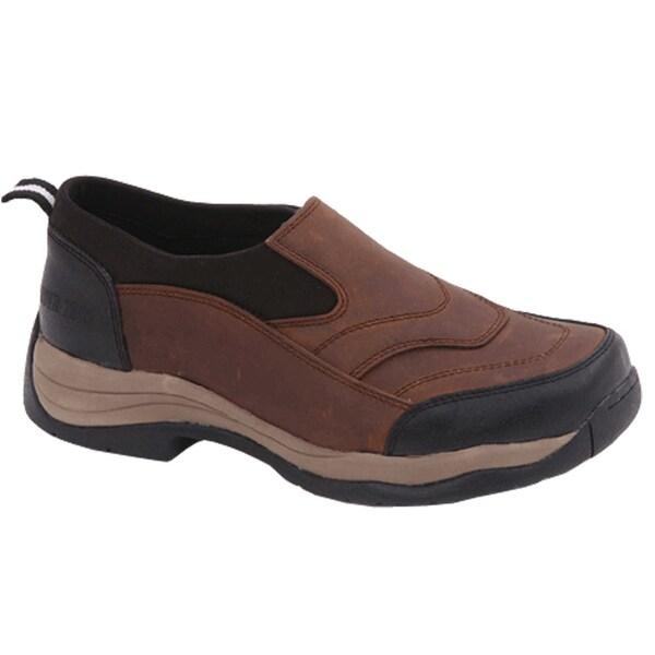 Rider Tecs Women's Brown / Black Leather Moc Boots