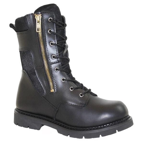AdTec Mens' Black Swat Boots