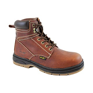 AdTec Men's Reinforced Leather Work Boots (As Is Item)