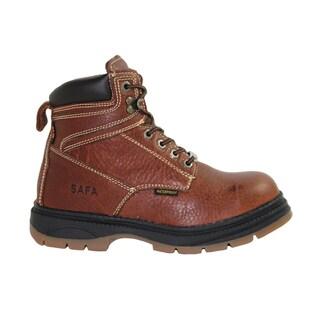 SAFA Men's Steel Toe Leather Work Boots